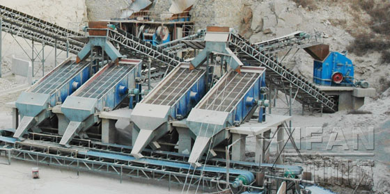 Aggregate-production-line-YIFAN Machinery