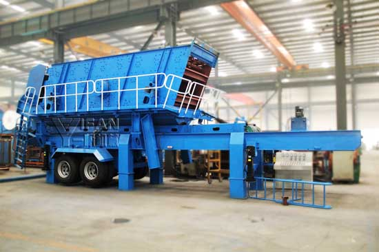 Mobile Crushing And Screening Equipment